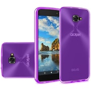 Insten Frosted TPU Case For Alcatel Idol 4S - Purple