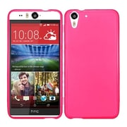 Insten Frosted Rubber Case For HTC Desire Eye - Hot Pink