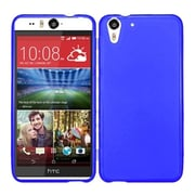 Insten Frosted Rubber Cover Case For HTC Desire Eye - Blue