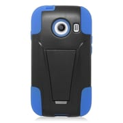 Insten Hard Hybrid Plastic 2-Layer Case with stand For Samsung Galaxy Ace Style - Blue