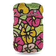 Insten Hard Diamante Cover Case For BlackBerry Bold Touch 9900/9930 - Colorful