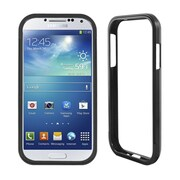 Insten Aluminum Metallic Bumper Case For Samsung Galaxy S4 - Black