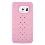 Insten Hard Hybrid Silicone Case For Samsung Galaxy S7 - Pink
