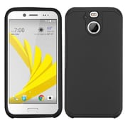 Insten Astronoot Dual layer Hybrid Hard PC/Silicone Protective Case For HTC 10 EVO / Bolt - Black