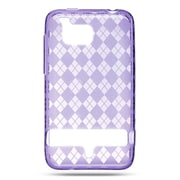Insten TPU Case For HTC ThunderBolt 4G - Purple