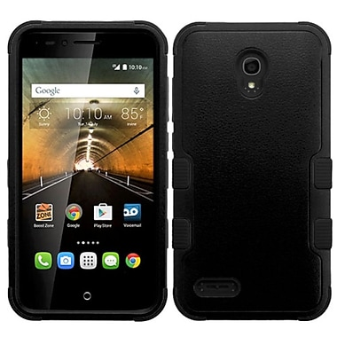 Insten Hard Hybrid Rugged Shockproof Silicone Case For Alcatel One Touch Conquest - Black