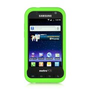 Insten Hard Crystal Skin Protective Shell Anti Slip Back Case For Samsung Galaxy Attain 4G - Green