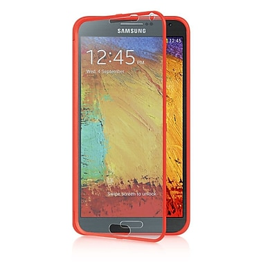 Insten Wrap Up TPU Case w/Installed For Samsung Galaxy Note 3 - Red