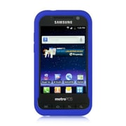 Insten Hard Crystal Skin Protective Shell Anti Slip Back Case For Samsung Galaxy Attain 4G - Blue