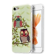 Insten Owl Rubber Case For Apple iPhone 7 - Colorful
