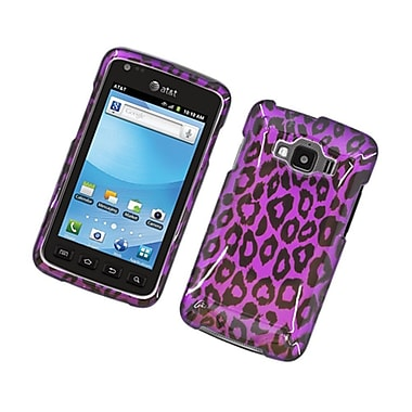 Insten Leopard Hard Snap-in Case Cover for Samsung Rugby Smart SGH-i847 - Purple