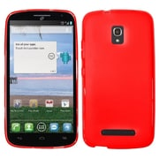 Insten Rubber Case For Alcatel One Touch Pop Mega - Red