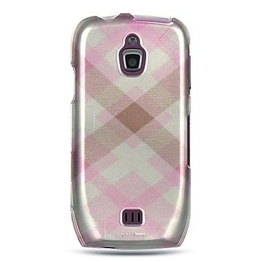 Insten Checker Design Hard Crystal Skin Back Cover Case For Samsung Exhibit 4G T759 - Pink