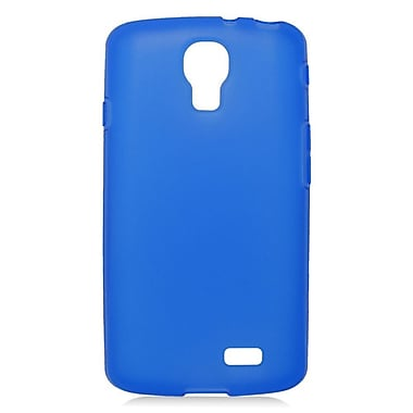Insten Rubber TPU Gel Case For LG F70 D315 - Blue