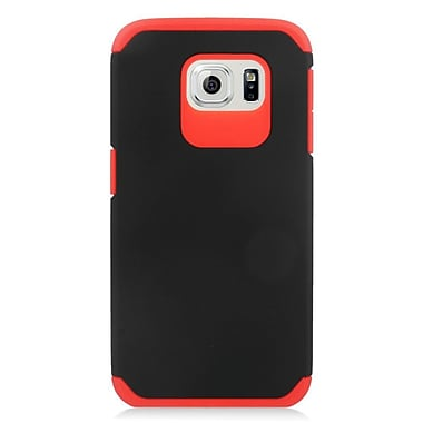 Insten Hard Dual Layer Silicone Cover Case For Samsung Galaxy S6 - Blue/Black