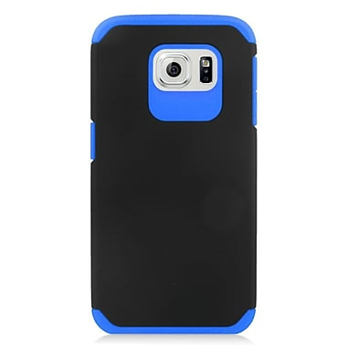 Insten Hard Hybrid Silicone Cover Case For Samsung Galaxy S6 - Blue/Black