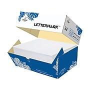 "Lettermark 8.5"" x 11"" Copy Paper, 20 lbs., 92 Brightness, 1250 Sheets/Carton (3968)"