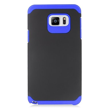 Insten Hard Dual Layer Silicone Case For Samsung Galaxy Note 5 - Blue/Black