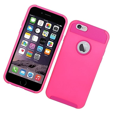 Insten Hard Dual Layer Hybrid Case For Apple iPhone 6s Plus / 6 Plus - Hot Pink