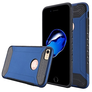 Insten Hard Dual Layer TPU Case For Apple iPhone 7 - Blue/Black
