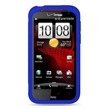 Insten Skin Rubber Case For HTC Rezound / Vigor - Blue
