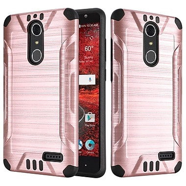 Insten Hard Hybrid TPU Case For ZTE Grand X 4 - Rose Gold