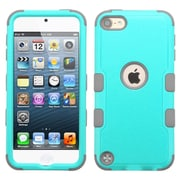 Insten Tuff Hard Dual Layer Rubberized Silicone Case For Apple iPod Touch 5th Gen/6th Gen - Teal/Gray