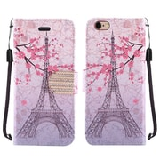 For Apple iPhone 6 6s 4.7 inch PU Leather Bling Flip