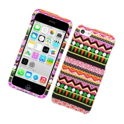 Insten Elegant Tribal Hard Snap-in Back Protective Case Cover For Apple iPhone 5C