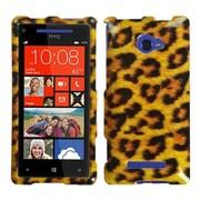 Insten Leopard Skin Phone Case for HTC: Windows Phone 8X, 6990LVW (Windows 8X)