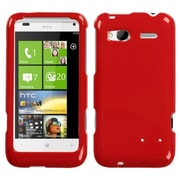 Insten Solid Flaming Red Phone Case for HTC: Radar 4G