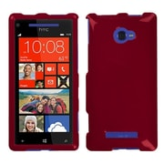 Insten Solid Red Phone Case for HTC: Windows Phone 8X, 6990LVW (Windows 8X)