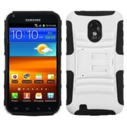 Insten White/Black Advanced Armor Stand Case for SAMSUNG: D710 (Epic 4G Touch), R760 (Galaxy S II), Galaxy S II 4G