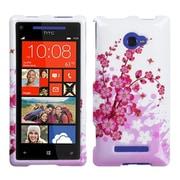 Insten Spring Flowers Phone Case for HTC: Windows Phone 8X, 6990LVW (Windows 8X)