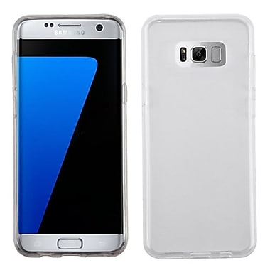 Insten Glossy TPU Rubber Candy Skin Back Gel Shell Case Cover For Samsung Galaxy S8 Plus - Clear