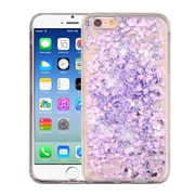 Insten Hearts Purple Quicksand Glitter Hybrid Hard/TPU Protective Case Cover For Apple iPhone 6 / 6s