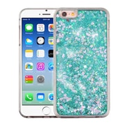Insten Hearts Green Quicksand Glitter Hybrid Hard/TPU Protective Case Cover For Apple iPhone 6 / 6s