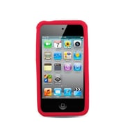 Insten Rubber Case For Apple iPhone 4/4S - Red