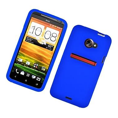 Insten Gel Rubber Cover Case For HTC EVO 4G LTE - Blue