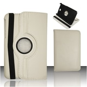 Insten Leahter 360 Degree Rotating Premium Case Cover Stand For Samsung Galaxy Tab 3 8.0