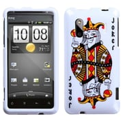 Insten Joker Playing Card Phone Case for HTC: Hero 4G/Kingdom, ADR6285 (Hero S), EVO Design 4G