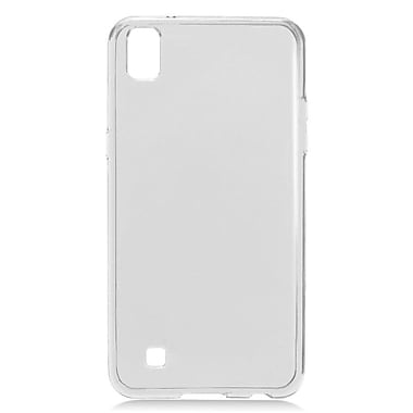 Insten Frosted TPU Rubber Candy Skin Case Cover for LG X Power - White