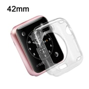 Insten TPU Case For Apple Watch iWatch 42mm - Clear