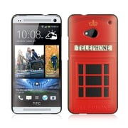 Insten Hard Case For HTC One M7 - Red/Black