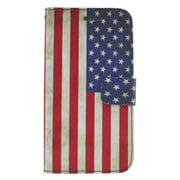 Insten United States National Flag Leather Wallet Case with Photo Display & Card Slot For ZTE Prestige - Colorful