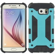 Insten Amour Hybrid Hard PC/TPU Dual Layer Case For Samsung Galaxy S6 - Black/Blue