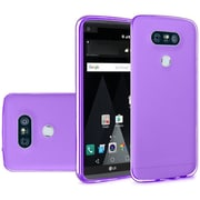 Insten Frosted Rubber Cover Case For LG V20 - Purple