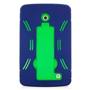 Insten Symbiosis Rubber Hybrid Hard Case with stand For LG G Pad 7.0 - Blue/Green