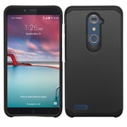 Insten Hard Dual Layer Cover Case For ZTE Grand X Max 2 / Imperial Max / Kirk / Max Duo 4G / Zmax Pro - Black