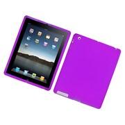 Insten Rubber Case For Apple iPad 2/3/4 - Purple